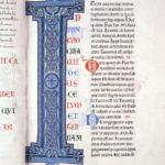 Великая Библия Клерво, инициал I