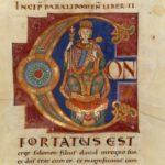 Вторая Библия Святого Марциала, Инициал С, Царь Соломон