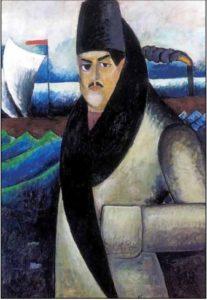 И. И. Машков. Автопортрет. 1911