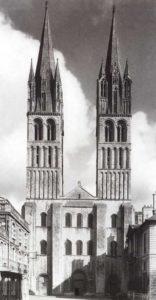 Монастырская церковь Сент Этьен в Кане