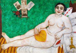 М. Ларионов. Еврейская Венера. 1912