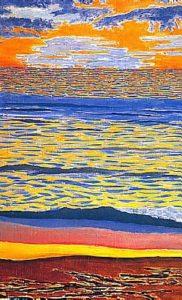 Н.Кульбин. Вид на море