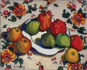 Н. Е. Кузнецов. Гранаты и яблоки. 1916