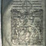 Рукопись из Мон-Сен-Мишель. Дар герцогини Гоннор, f.23v
