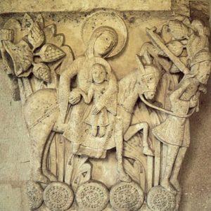 Сен Лазар в Отёне. Бегство в Египет