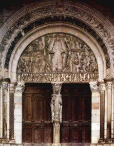Сен Лазар в Отёне. Страшный суд