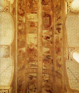 Сен-Савен-сюр-Гартамп. Общий вид росписи свода