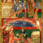 Сцены из жизни святого Радегонда