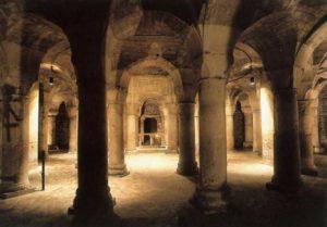 Церковь Сен Бенинь. Внутренний вид ротонды