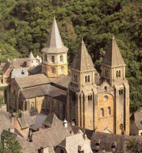 Церковь аббатства Сент Фуа в Конке