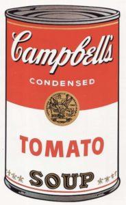 Энди Уорхол. Консервная банка от кэмпбелловского супа. 1968