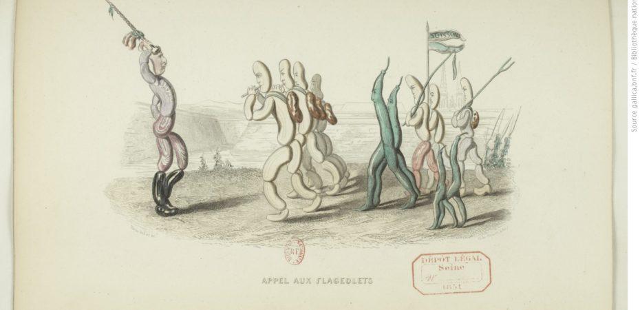 Овощные дролери (Drôleries végétales), 1851, Париж / BNF, RES-Y2-1113