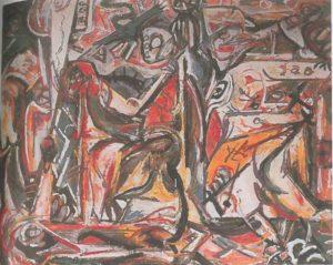 Джексон Поллок. Обрезание. 1947