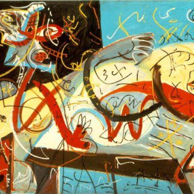 Творчество Джексона Поллока, абстрактный экспрессионизм и феномен «Живописи действия»
