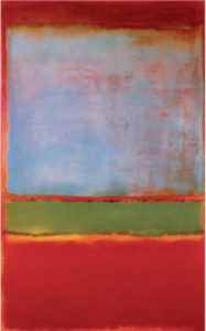 Марк Ротко. Фиалковый, зеленый, красный. 1951