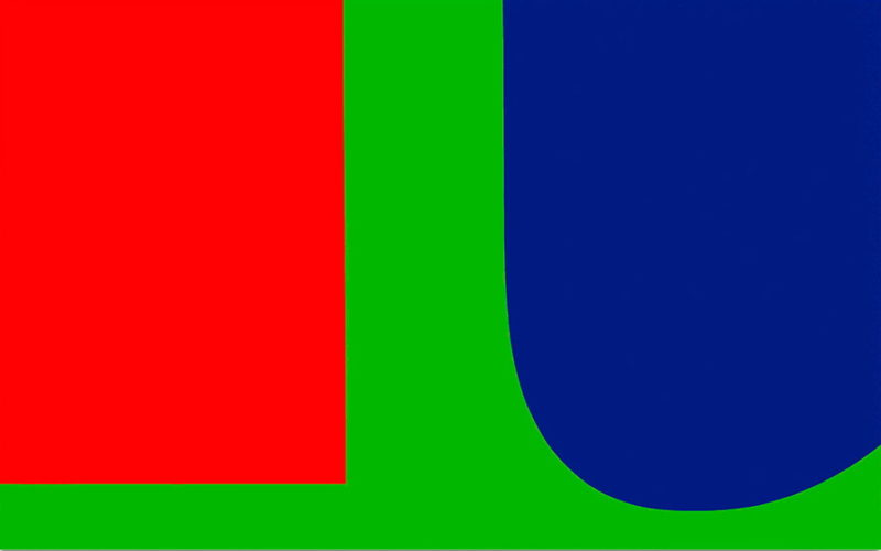 Эльсуорт Келли. Red Blue Green. 1963