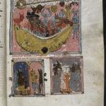 f33. Падение мятежных ангелов, принц дьяволов высылает своих министров, искушение развращением.