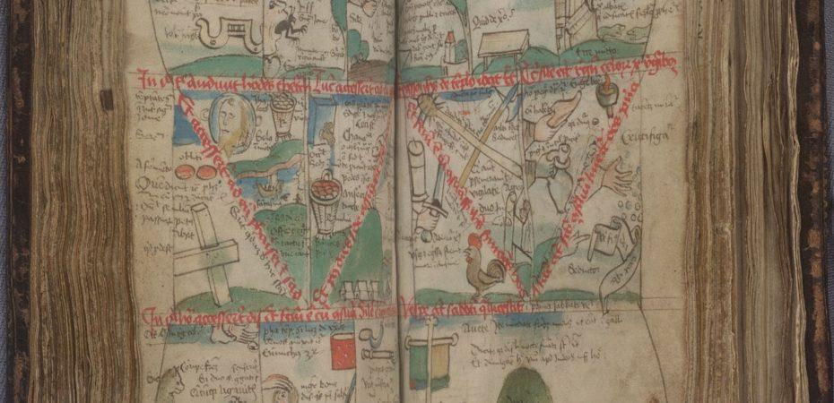 Библия Ветмор (XV в, Германия \ Публичная библиотека Провиденс, США, MS 1)
