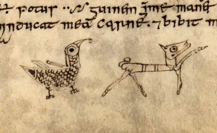 Дирская книга ( X век, Шотландия \ Кембриджская университетская библиотека, MS. Ii.6.32)