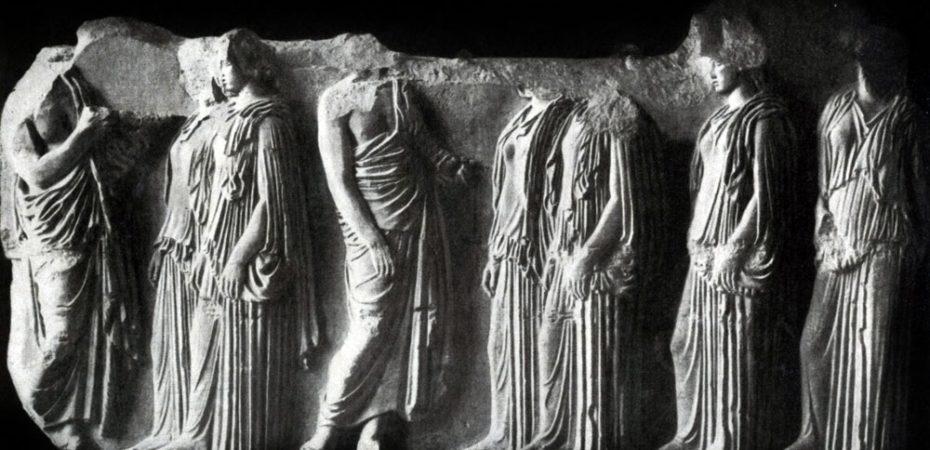 Эволюция греческой школы скульптуры V в. до н.э. и творчество Фидия