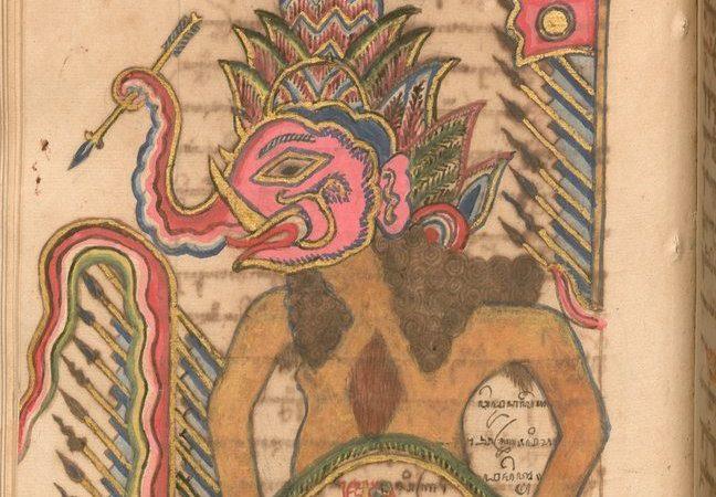 Рукопись о приключениях Хамзы (ок. 1800, о. Ява \ Баварская государственная библиотека, Cod.jav. 2592)