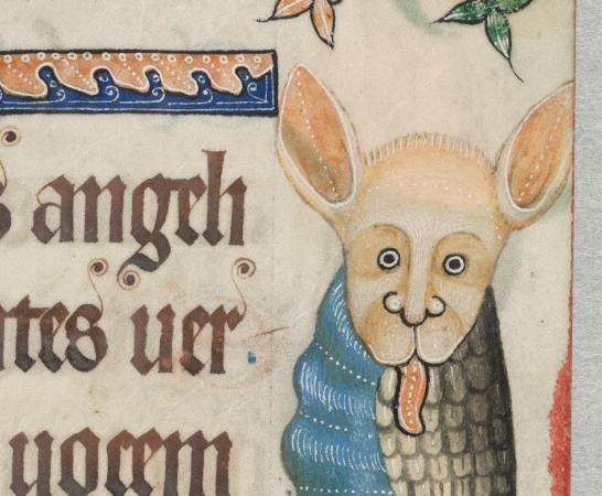 Псалтырь Лутрелла (1320-1340, Англия \ Британская библиотека, MS 42130)