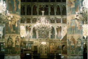 Успенский собор Московского Кремля. 1479 г. Интерьер