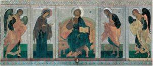 Мастер Аарон. Деисусный чин в иконостасе Софийского собора в Новгороде. 1439 г.