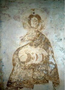 Пророк Даниил. Фреска церкви Успения в Мелетове. 1465 г.
