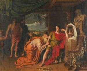Иванов А.А. «Приам испрашивает у Ахиллеса тело Гектора» (1824)