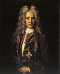 Никитин И. Портрет канцлера Головкина, 1720-е годы, ГТГ