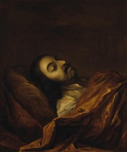 Портрет Петра I на смертном одре, 1725 г., Государственный Эрмитаж.