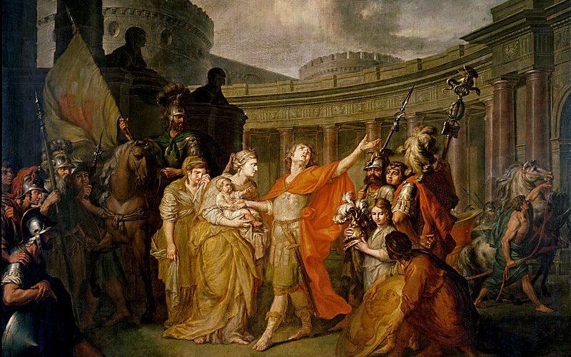 Прощание Гектора с Андромахой (1773)