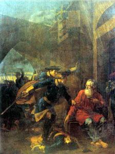 Шебуев В.К. Подвиг купца Иголкина, 1839, ГРМ