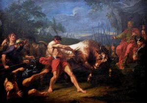 Угрюмов Г.И. «Испытание силы Яна Усмаря», 1796–1797, ГРМ