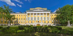Здание Московского университета на Моховой