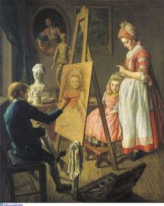 «Юный живописец» (2-я половина 1760-х гг., ГТГ)