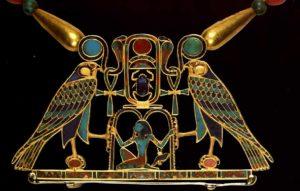 Подвеска царевны Сат-Хатхор-Иунит. Около 1870 до н. э. Египет