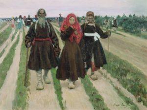 С.А. Коровина «В дороге» (1902, ГТГ)