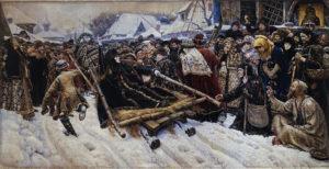 В. И. Суриков. Боярыня Морозова. 1884-1887, ГТГ