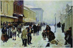 В. Маковский. «Ночлежники», 1889