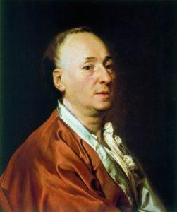 Левицкий Д. Портрет Д. Дидро. 1773-74 г., холст, масло. Музей иск-ва и истории, Женева.